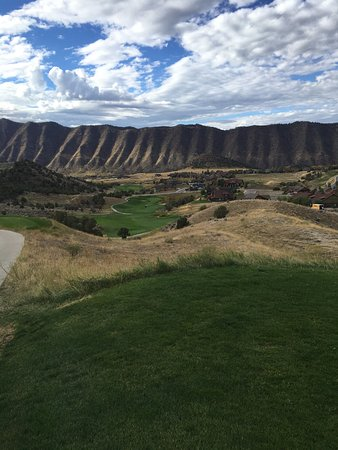 New Castle, CO: 18th tee