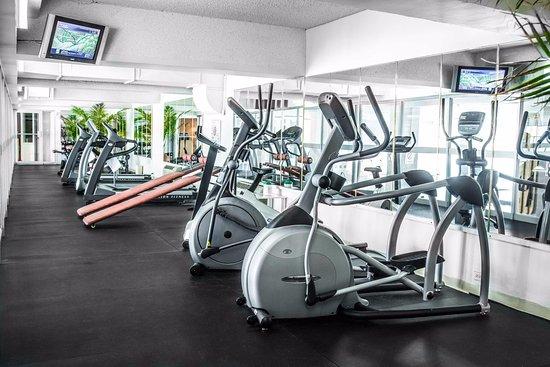 Sandman Hotel Montreal-Longueuil: Fitness Centre