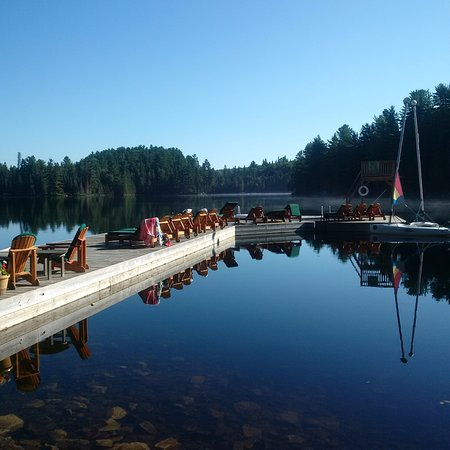 Waterside activities Picture of Arowhon Pines Algonquin