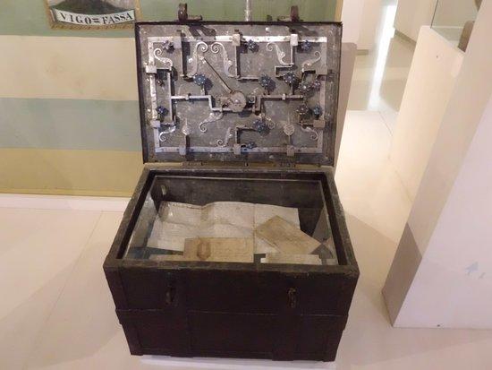 Museo Ladino di Fassa: Cassaforte