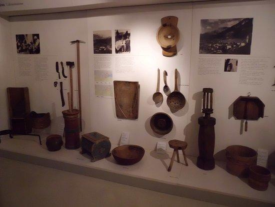 Museo Ladino di Fassa: Attrezzi cucina