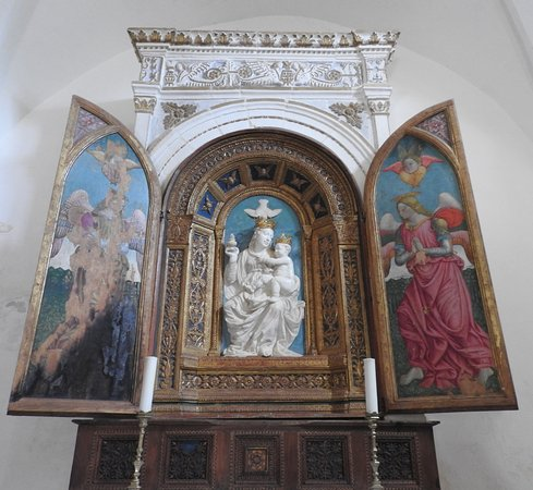 Norcia, Italie : La Madonna Bianca