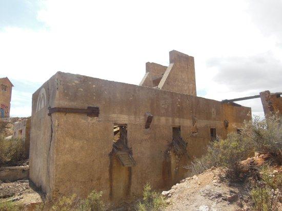 Mazarron, Spagna: Derelict buildings