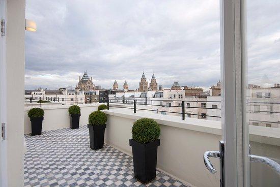 130 Queen's Gate: Penthouse Suite Terrace