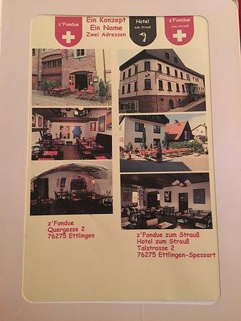 Z 180 Fondue Ettlingen Restaurant Bewertungen
