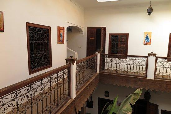 Riad Limouna: The first floor