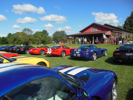 Alanson, MI: Michigan viper car club outing