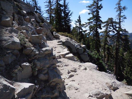 Mineral, Καλιφόρνια: Bumpass Hell Trail