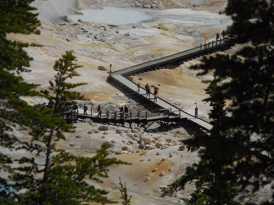 Mineral, Californien: Bumpass Hell Thermal Area