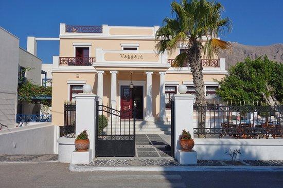 Entr e bild von veggera hotel perissa tripadvisor for Entree hotel