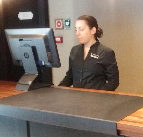 Europark Hotel Front Desk Agent Edurne