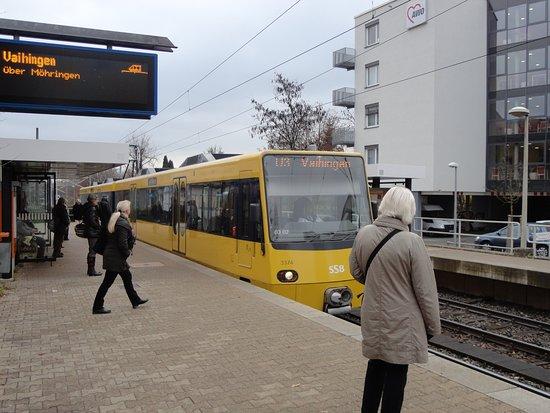 Zahnradbahn: シュツットガルトの交通システムは市内を縦横に・・・