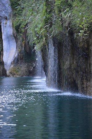 Montagnac, Fransa: les basses Gorges accesibles depuis la base de canoë