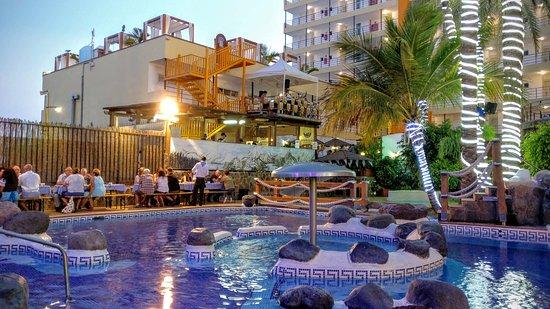 Hotel Maritim Playa: Hinterer Eventbereich Oktoberfest 2016