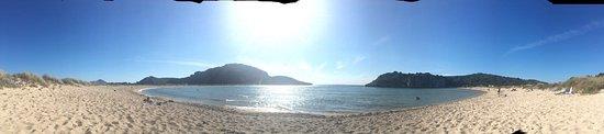 Παραλία Βοϊδοκοιλιά: Voidokilia Beach