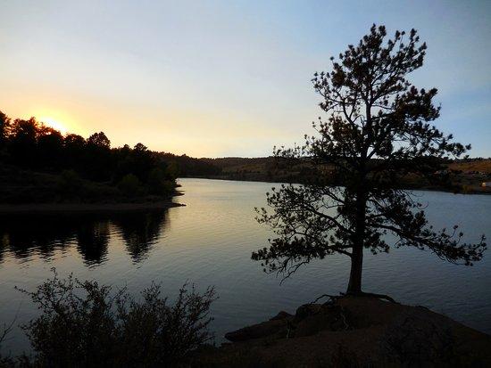 Slabz trail overlook above granite reservoir walk or ride for Plenty of fish cheyenne