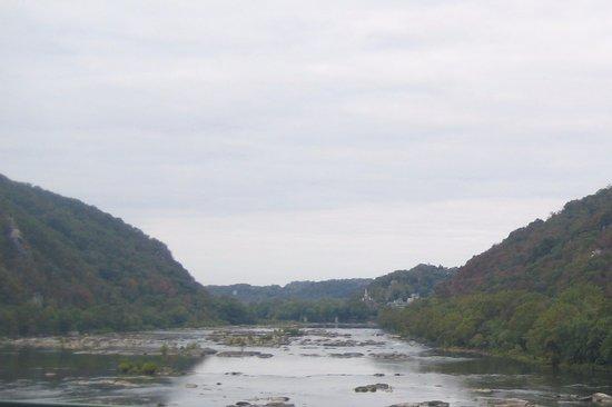 Clarion Inn Harpers Ferry: Shenandoah River Harper's Ferry West Va.