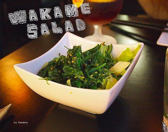 Port Alberni, Canada: seaweed salad