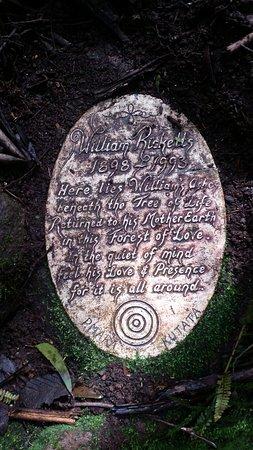 Mount Dandenong, Australien: Place of burrial of William