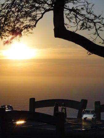 Pigna, Frankrike: Romantisches Abendessen