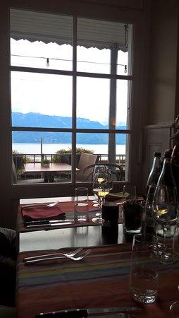 Grandvaux, Ελβετία: vista sul lago