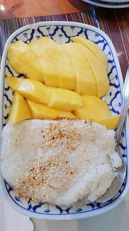 President Thai Restaurant : Mango with Sticky Rice