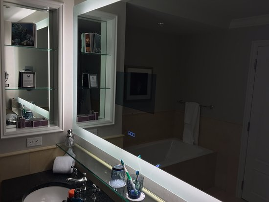 The Ritz-Carlton, Dallas: Vanity in master bath
