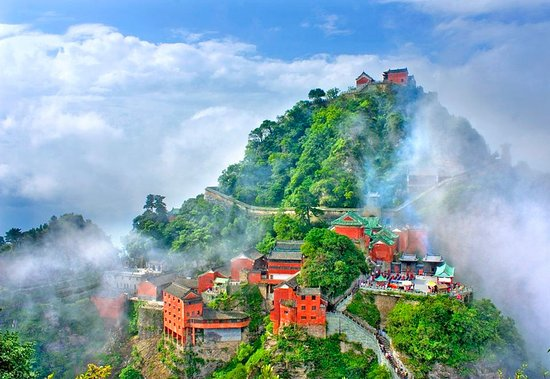 Xiangyang, China: Wudang Mountain