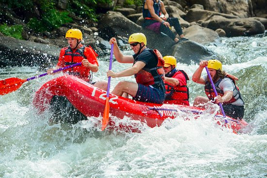 Ohiopyle, Pensylwania: Great time on the Yok rafting!