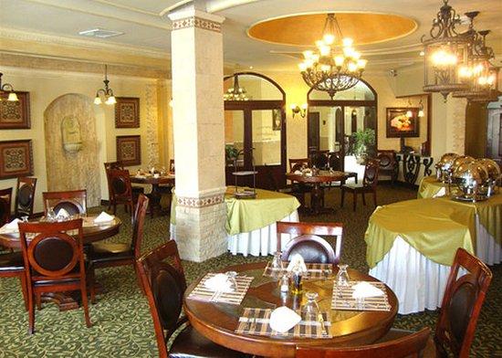 Hotel Gran Mediterraneo: Santorini Restaurant