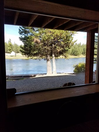 Macks Inn, ID: view from the living/dining room