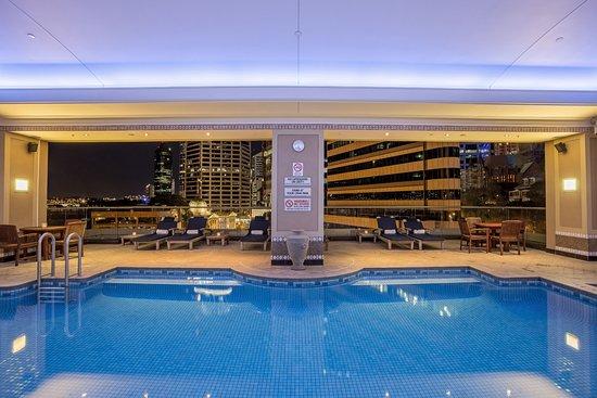 Indoor Outdoor Pool Picture Of Brisbane Marriott Hotel Brisbane
