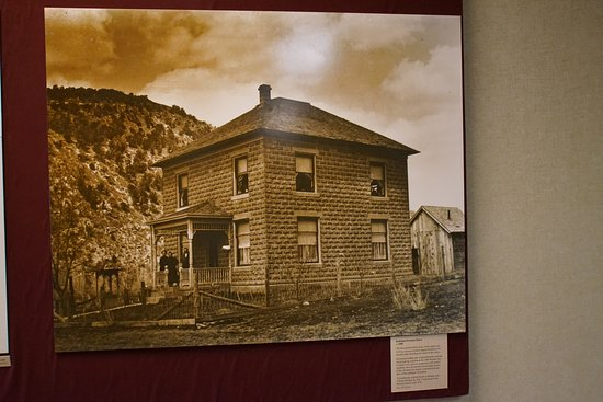Dolores, CO: Anasazi Heritage Center, historical display.