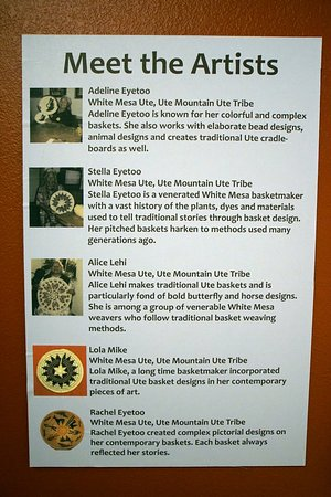"Dolores, CO: Anasazi Heritage Center: ""Weaving Stories: Basketry in the Southwest."""