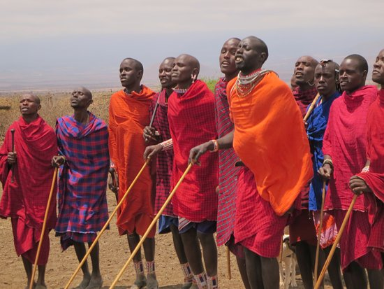 Tortilis Camp: We enjoyed a side trip to a local Masai village