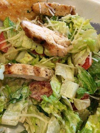 Matamoras, Pensilvania: Chicken caesar salad