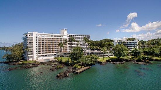 Grand Naniloa Hotel Aerial