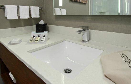 King Guest Room Vanity - Picture of Hilton Garden Inn New York ...