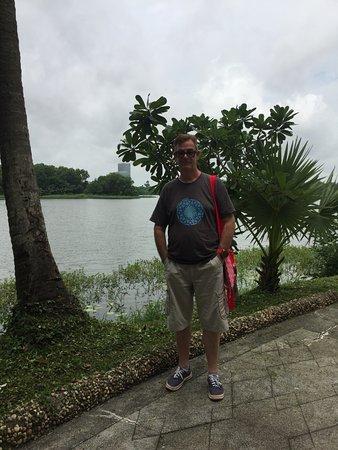 Inya Lake Hotel, Yangon : more water views