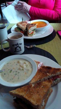 Hedley, Canada : Lunch.