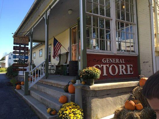 Kempton, Пенсильвания: Wanamaker's General Store
