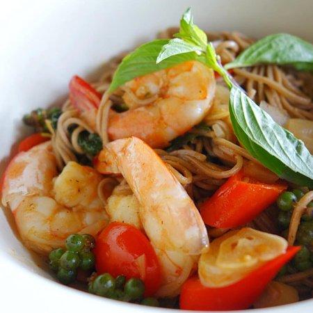 Laem Set, Thailand: My favourite dish - Phad Kee Mao