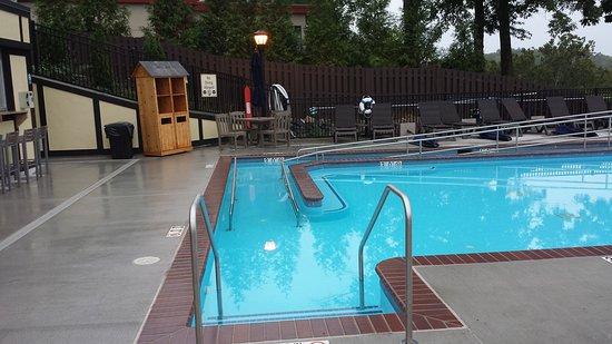 Bavarian Inn Infinity Pool and Exterior!
