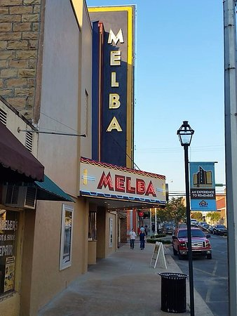 Outside of Melba in historic downtown Batesville, AR