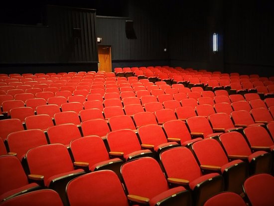 Batesville, AR: Original seating masterfully renovated inside the Melba Theater
