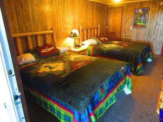 Jasper, Арканзас: Inside our room