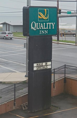 Quality Inn: We'd _reserve_ a room, nonetheless...