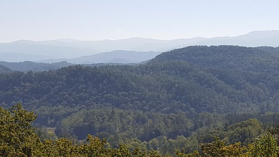 Townsend, TN: western smokies from parkway