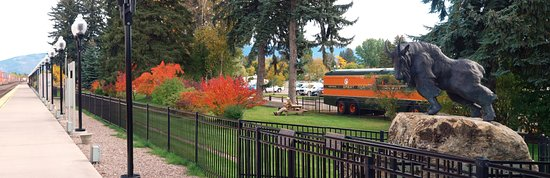 Park at the Whitefish Depot