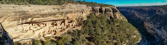 Mancos, CO: Cliff Palace - a primitive dwelling amid spectacular scenery